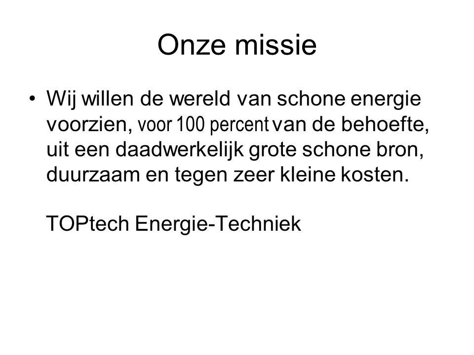 Voorbeeld: Bron A goedkoop, toch klein Goedkope waterkracht bijvoorbeeld kan maar 4 percent van de energiebehoefte dekken.