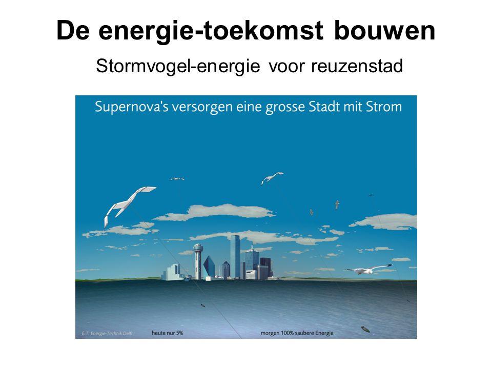 De energie-toekomst bouwen Stormvogel-energie voor reuzenstad