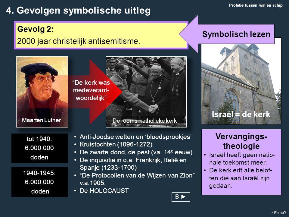 Profetie tussen wal en schip > En nu? Gevolg 2: 2000 jaar christelijk antisemitisme. Anti-Joodse wetten en 'bloedsprookjes' Kruistochten (1096-1272) D