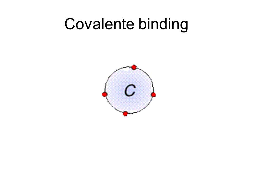 Hebzucht Als twee atomen allebei elektronen erbij willen hebben worden die elektronen 'dus' gedeeld.