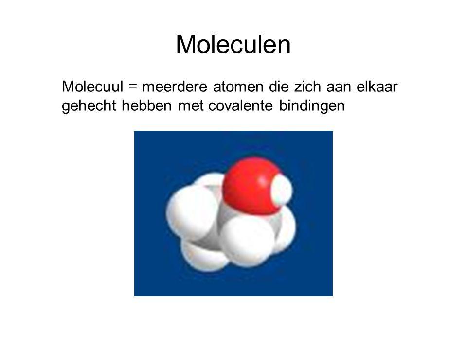 Dipool Dipool = atoom met polaire bindingen waarbij de δ + en de δ - niet op dezelfde plek liggen