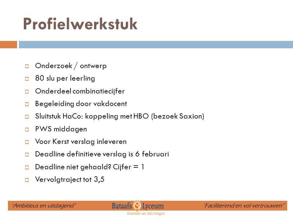 Presentatieavond di 3 maart  Mondelinge presentaties (onderdeel beoordeling)  U bent van harte welkom.