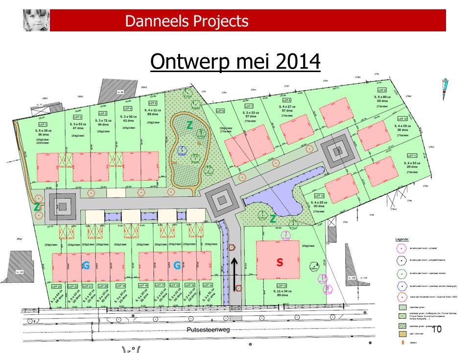 10 Danneels Projects Ontwerp mei 2014 S GG Z Z Z