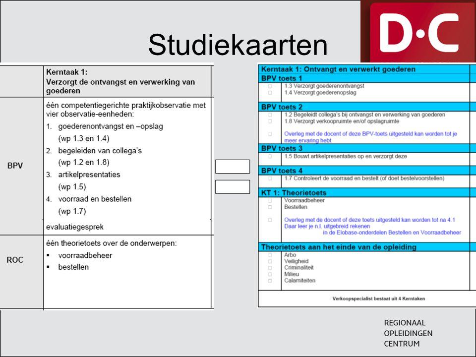 Studiekaarten