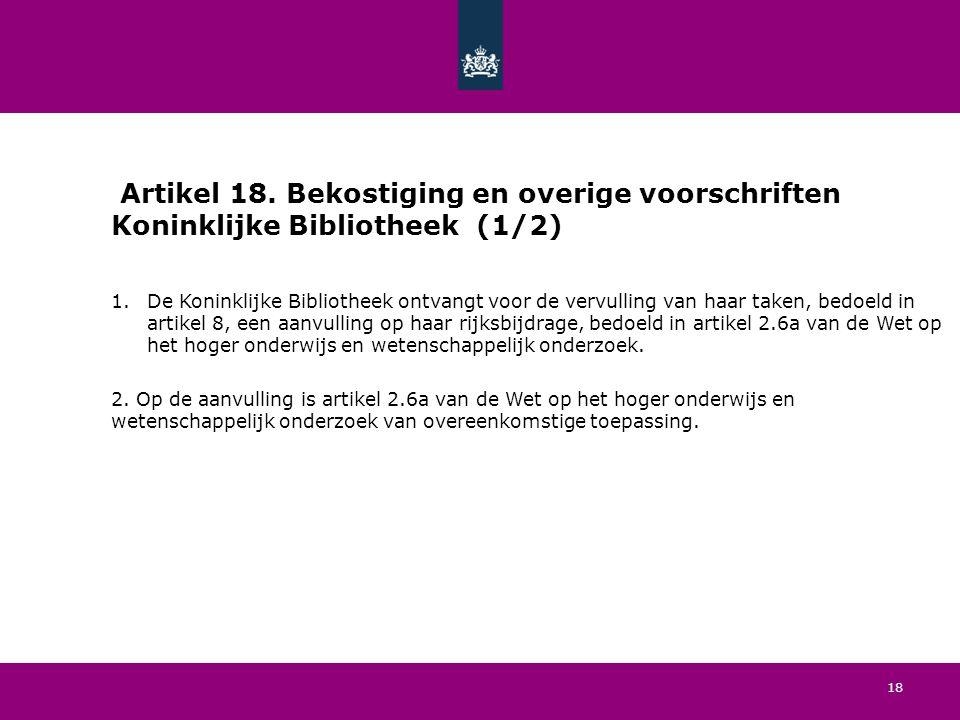 18 Artikel 18.
