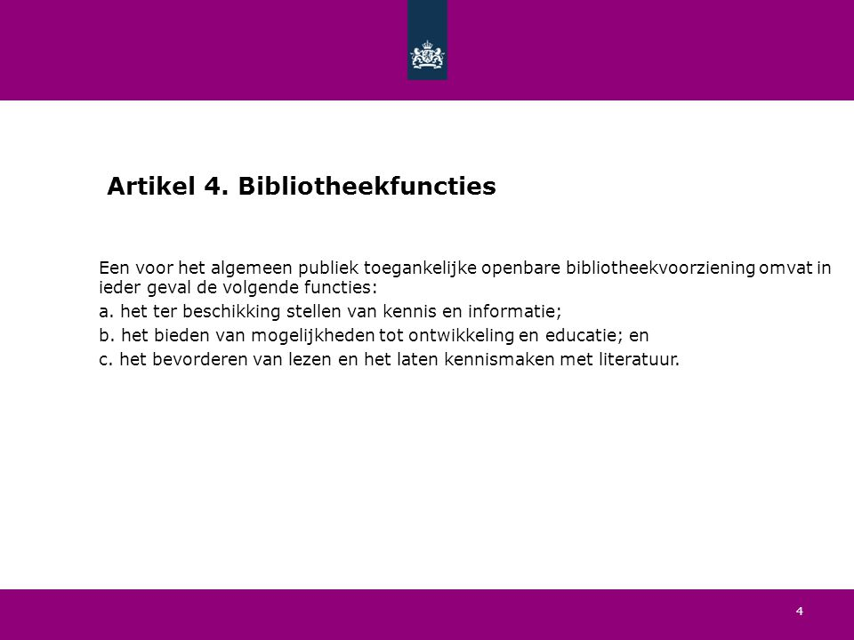 4 Artikel 4.