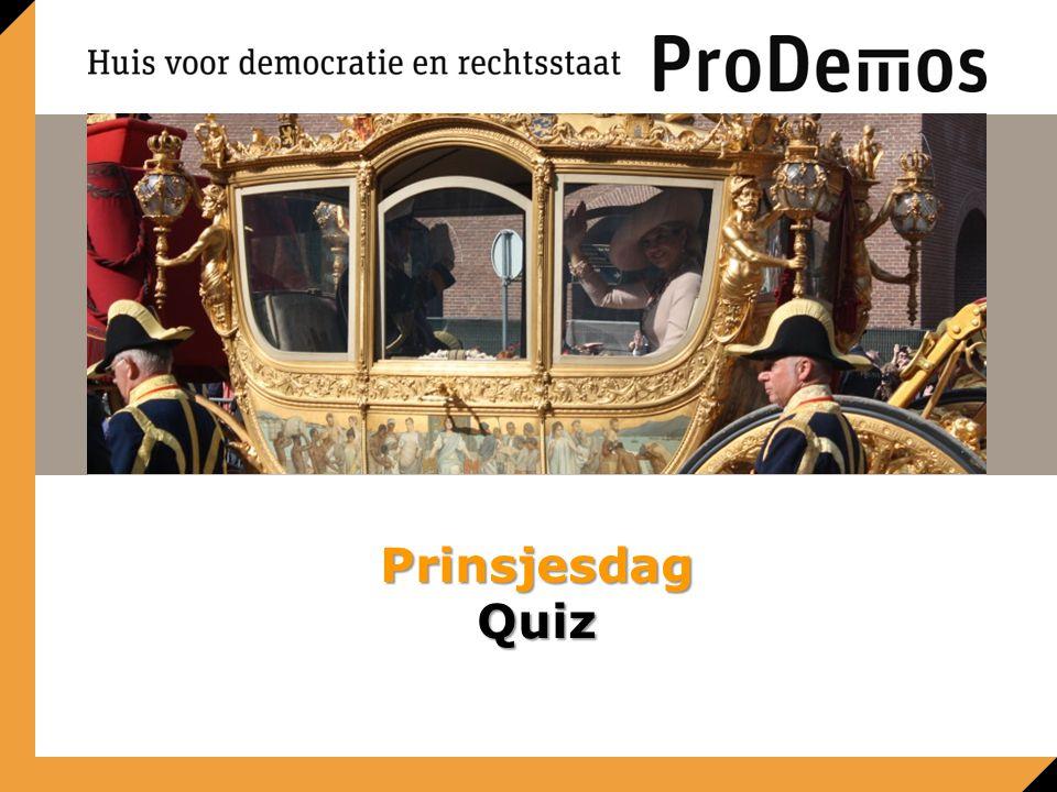 Prinsjesdag Quiz