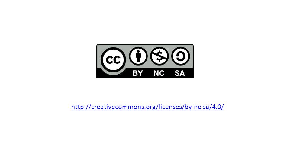 http://creativecommons.org/licenses/by-nc-sa/4.0/