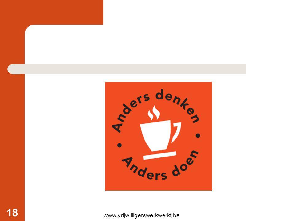 www.vrijwilligerswerkwerkt.be 18