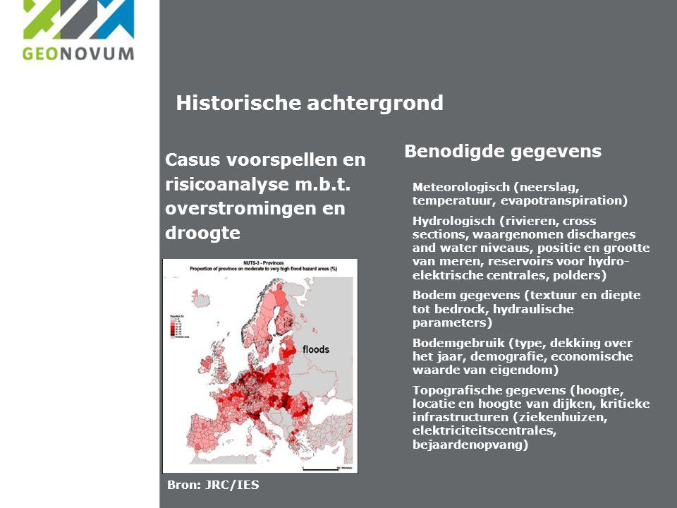 NL aanpak data providers Inventarisatie