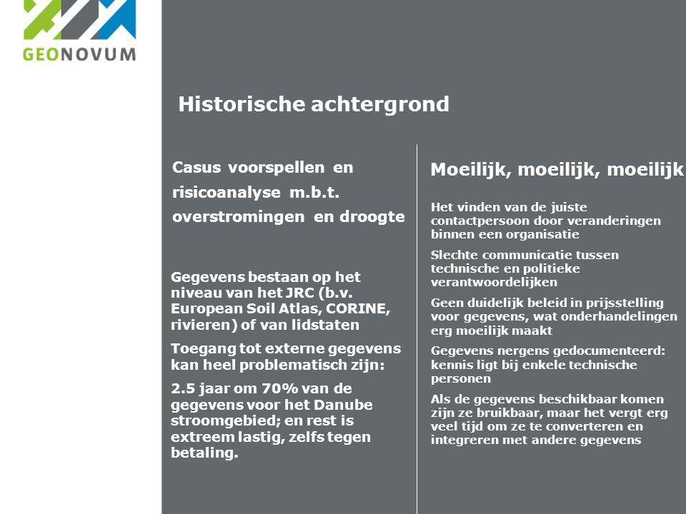 Historische achtergrond Casus voorspellen en risicoanalyse m.b.t.