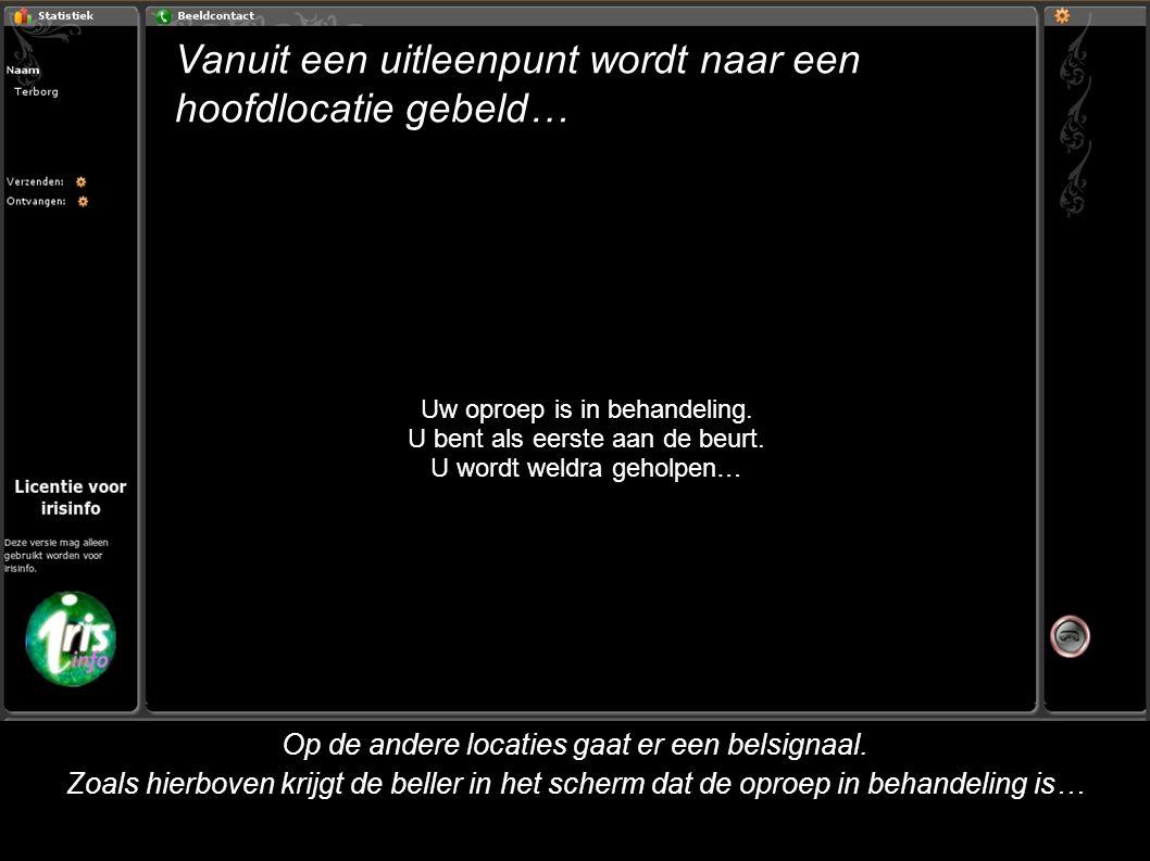Videobericht achterlaten (5) Indien iemand niet aanwezig is kan het handig zijn een bericht achter te laten.