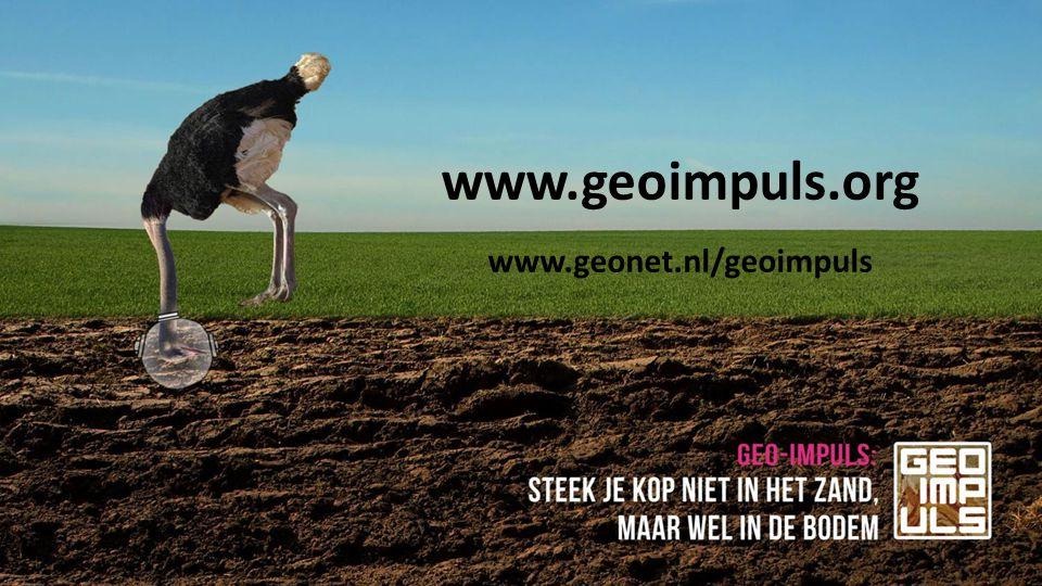 www.geoimpuls.org www.geonet.nl/geoimpuls