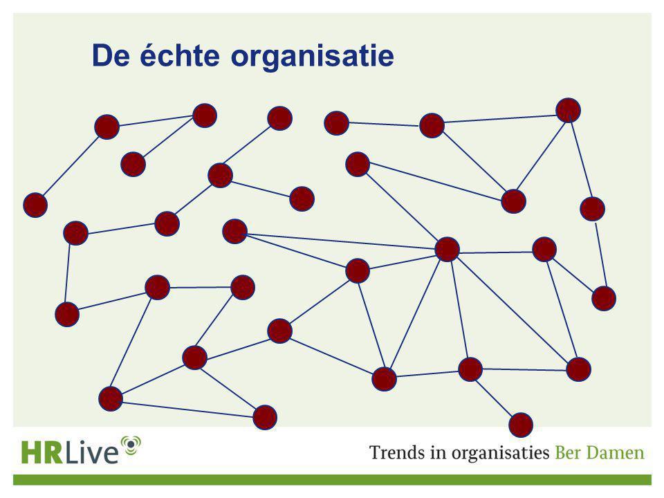 De échte organisatie