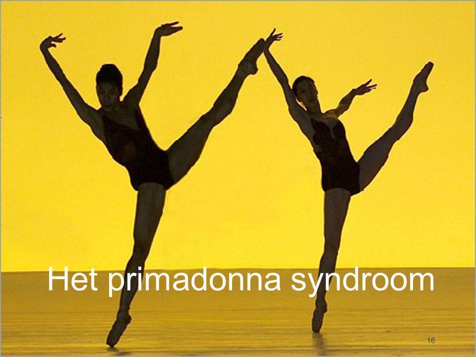 Het primadonna syndroom 16