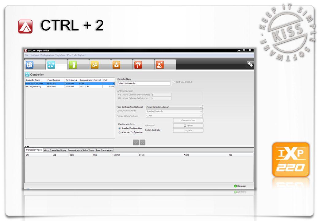 CTRL + 3