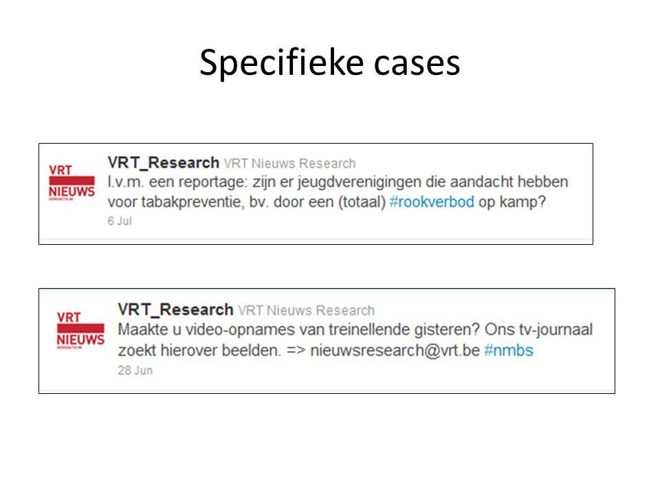 Specifieke cases