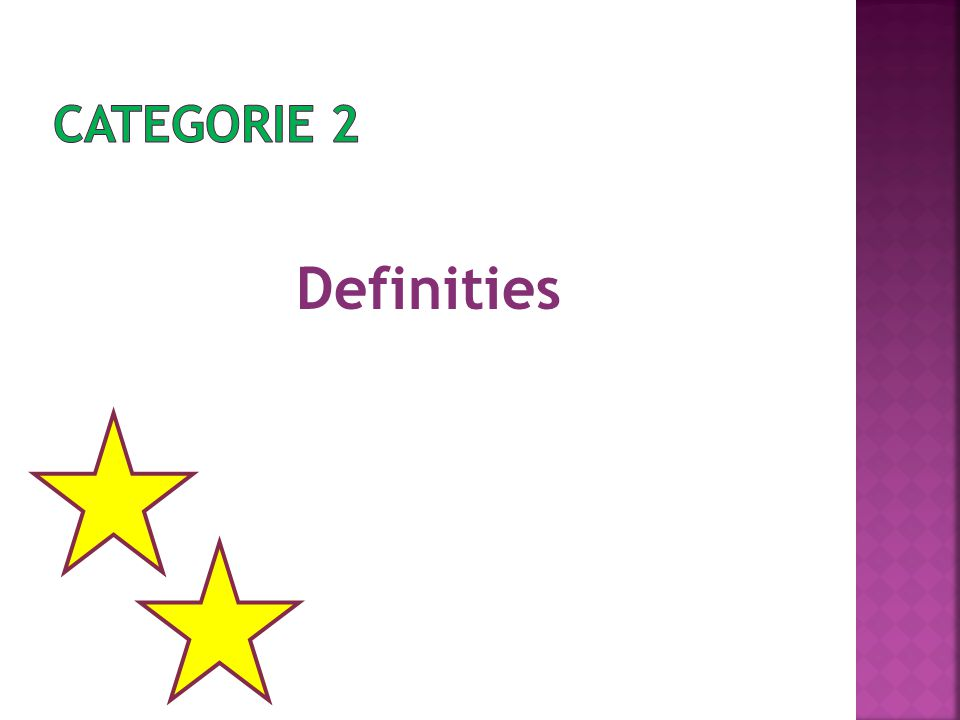 Definities
