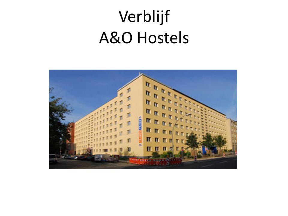 Verblijf A&O Hostels