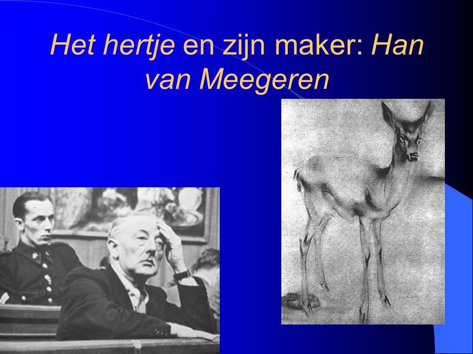 Het hertje en zijn maker: Han van Meegeren