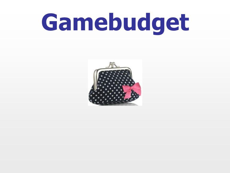 Gamebudget