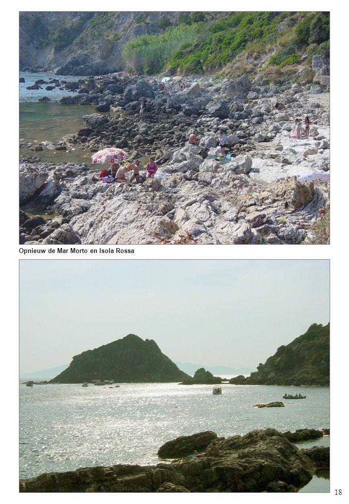 18 Opnieuw de Mar Morto en Isola Rossa