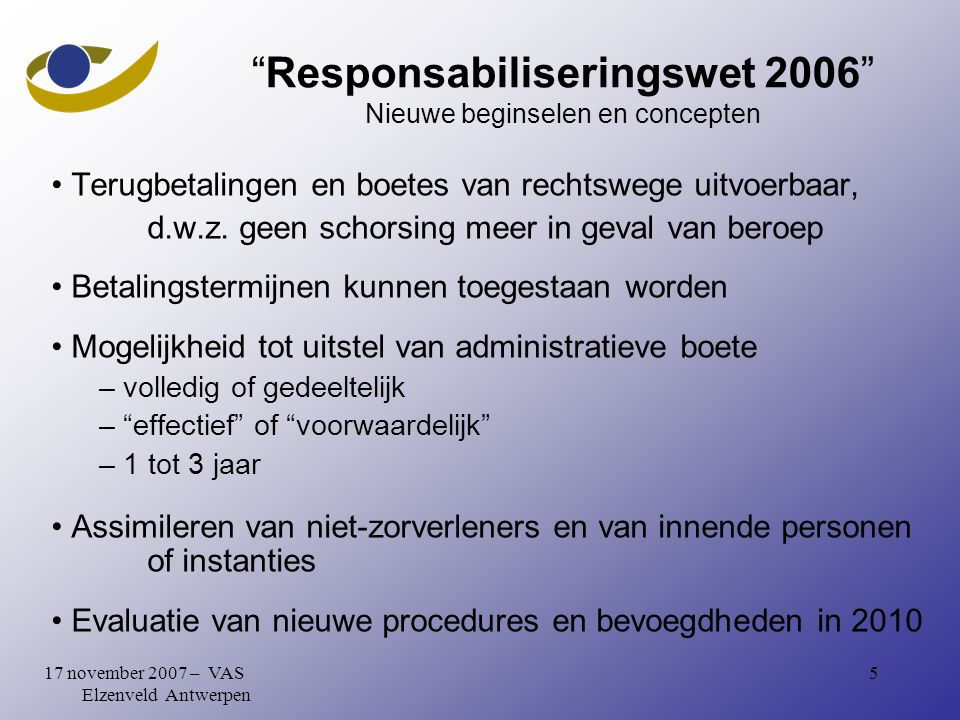 1617 november 2007 – VAS Elzenveld Antwerpen Cystostomy in TURP-patients/interpell.