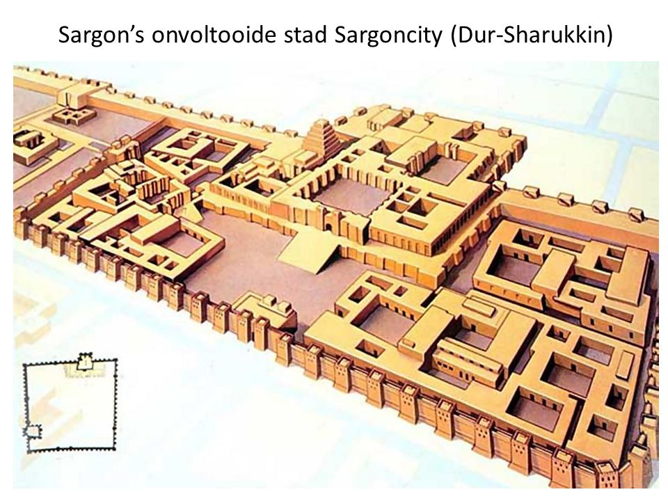 Sargon's onvoltooide stad Sargoncity (Dur-Sharukkin)