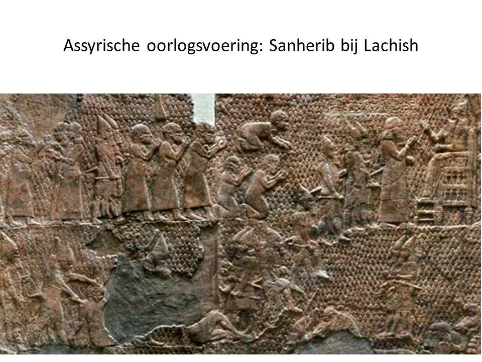 Assyrische oorlogsvoering: Sanherib bij Lachish