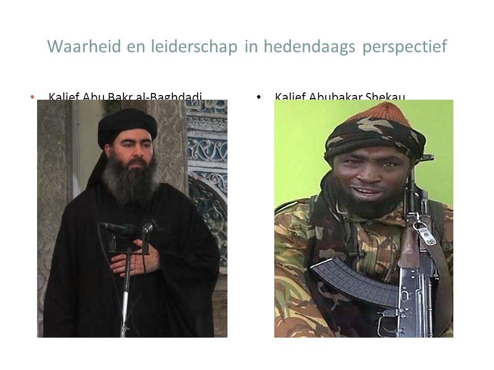 Kalief Abubakar Shekau Kalief Abu Bakr al-Baghdadi