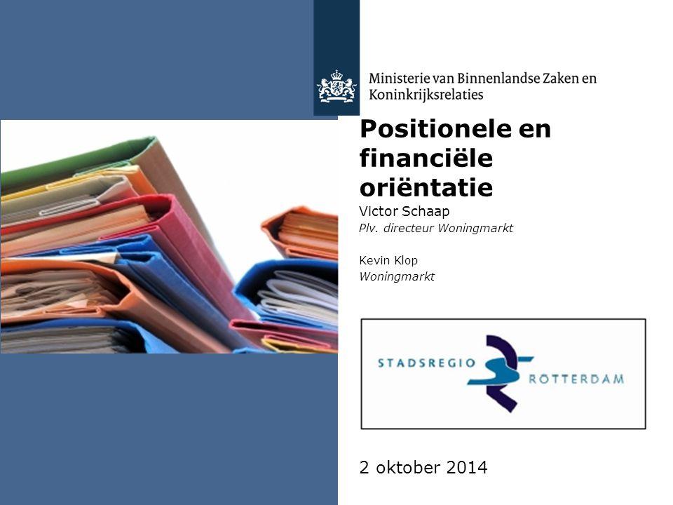 Positionele en financiële oriëntatie Victor Schaap Plv.