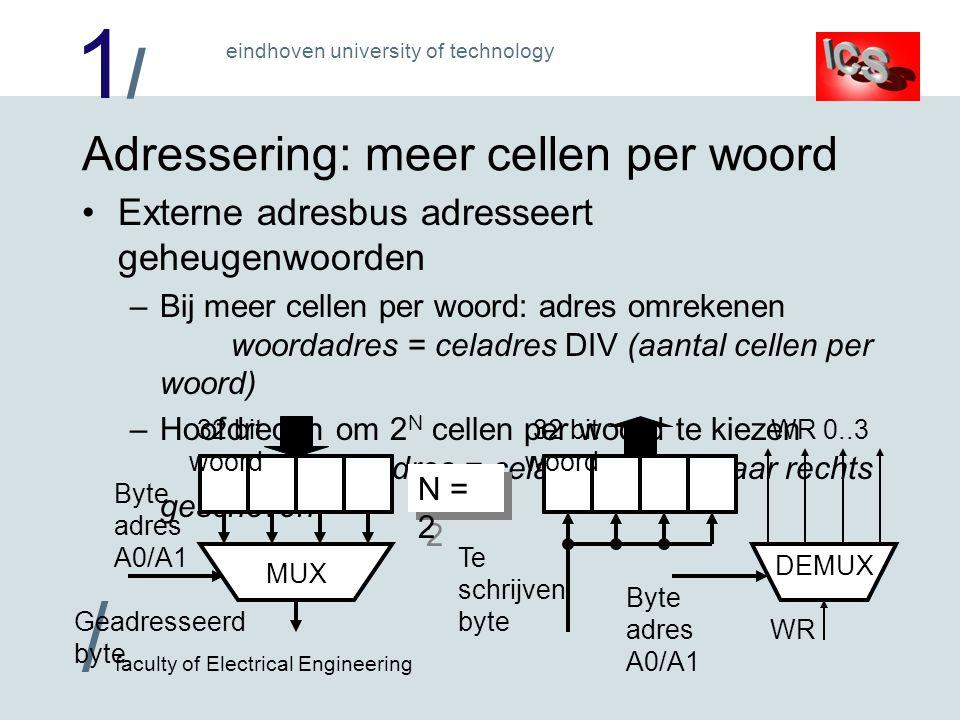 1/1/ / faculty of Electrical Engineering eindhoven university of technology Voor diegenen, die meer willen weten...