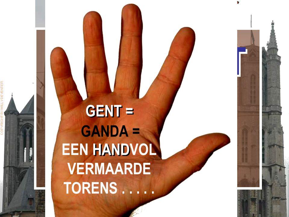 GENT HEEFT IETS MET… TORENS. GENT HEEFT IETS MET… TORENS.
