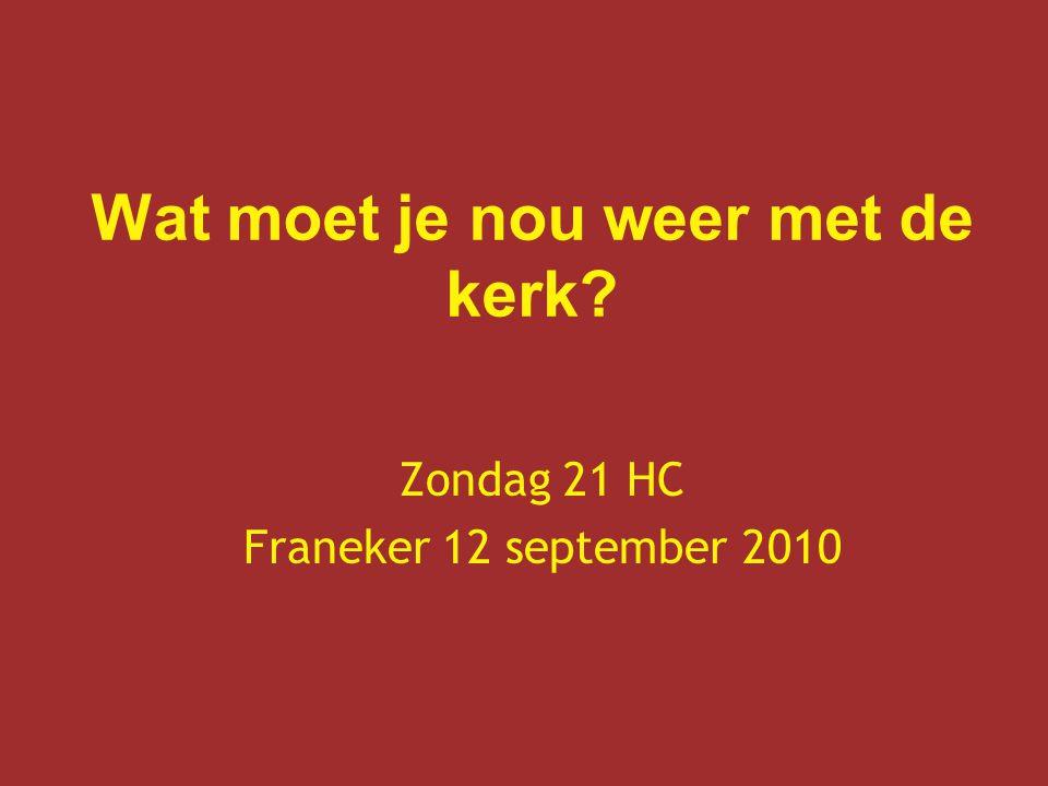 Zondag 21 HC Franeker 12 september 2010