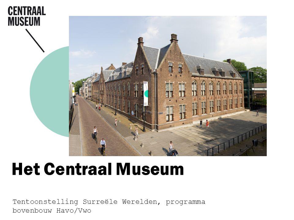 Het Centraal Museum Tentoonstelling Surreële Werelden, programma bovenbouw Havo/Vwo
