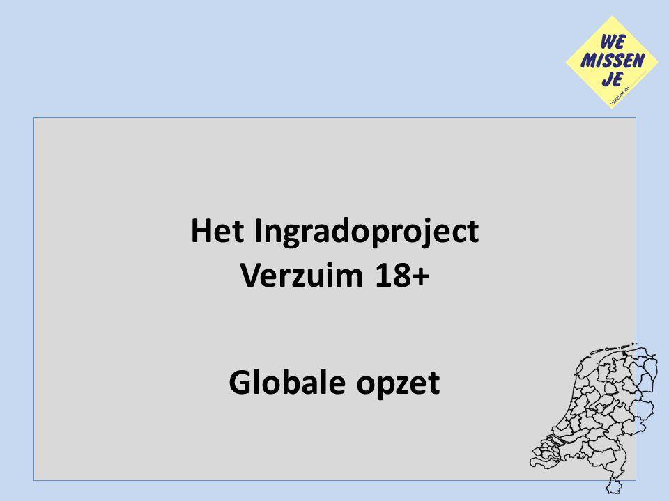 Het Ingradoproject Verzuim 18+ Globale opzet