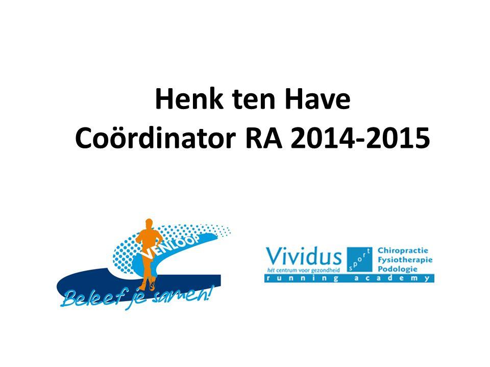 Vanaf het begin nauw betrokken bij de Venloop Sinds 2011 naamsponsor Running Academy Doelstelling Vividus-Sport RA
