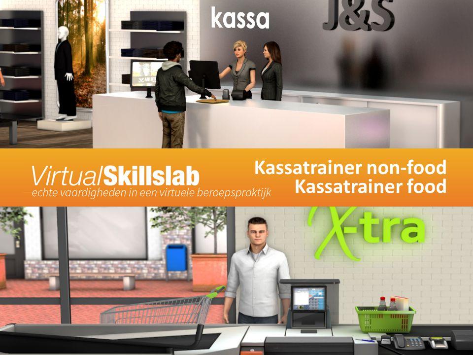 Kassatrainer non-food Kassatrainer food