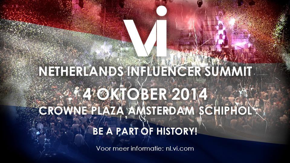 BE A PART OF HISTORY! Voor meer informatie: nl.vi.com