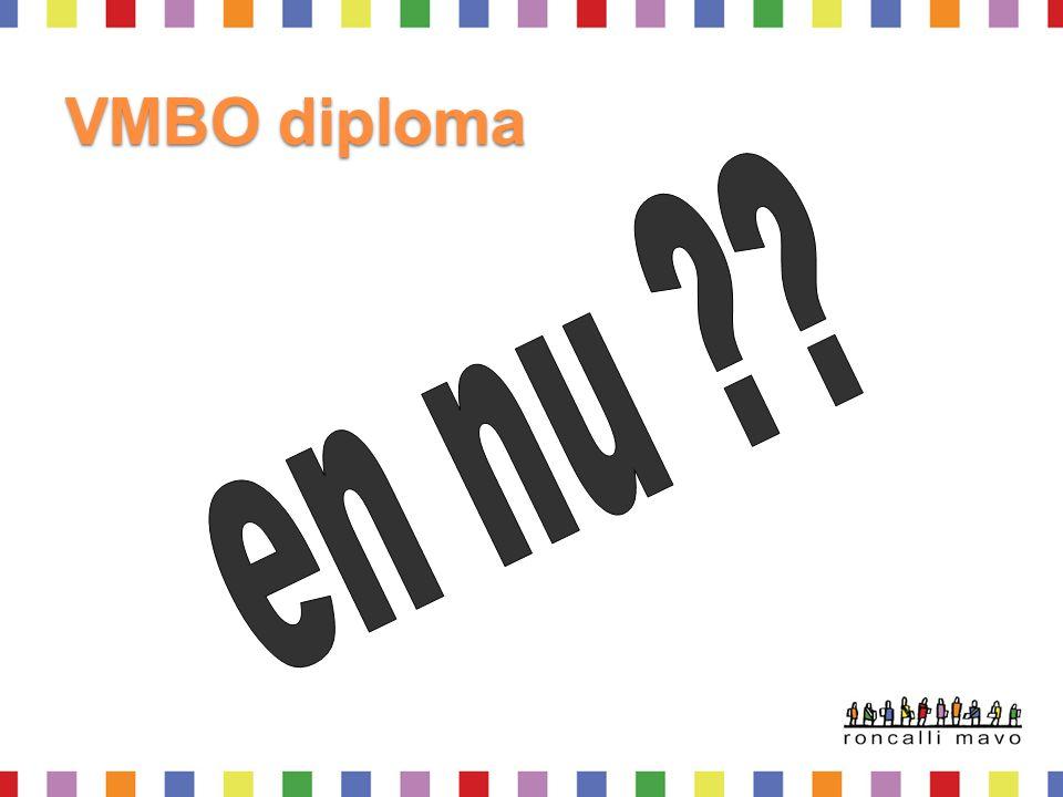 VMBO diploma