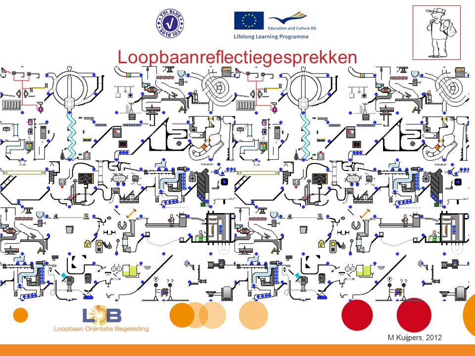Loopbaanreflectiegesprekken M.Kuijpers, 2012