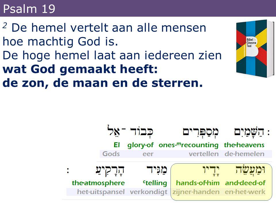 10 hij wilde dat de hemel en de aarde door Christus weer een eenheid zouden worden.
