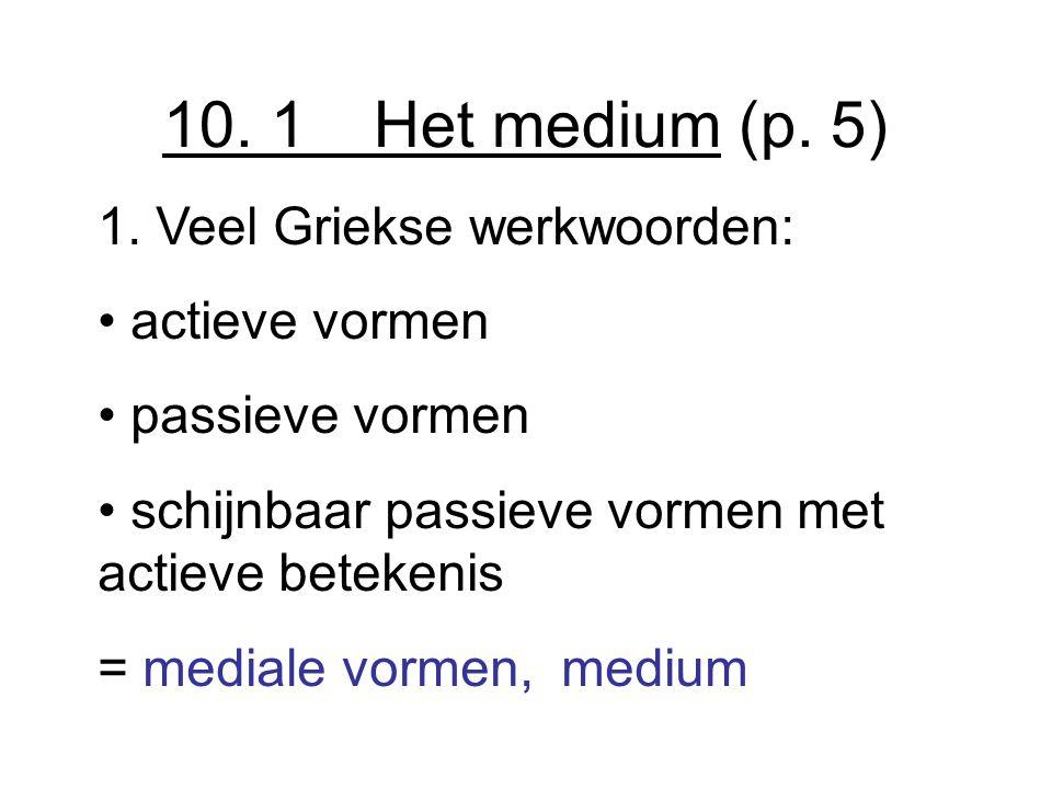10.1 Het medium (p. 5) 1.