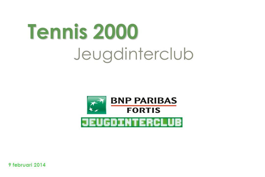 Tennis 2000 Tennis 2000 Jeugdinterclub 9 februari 2014