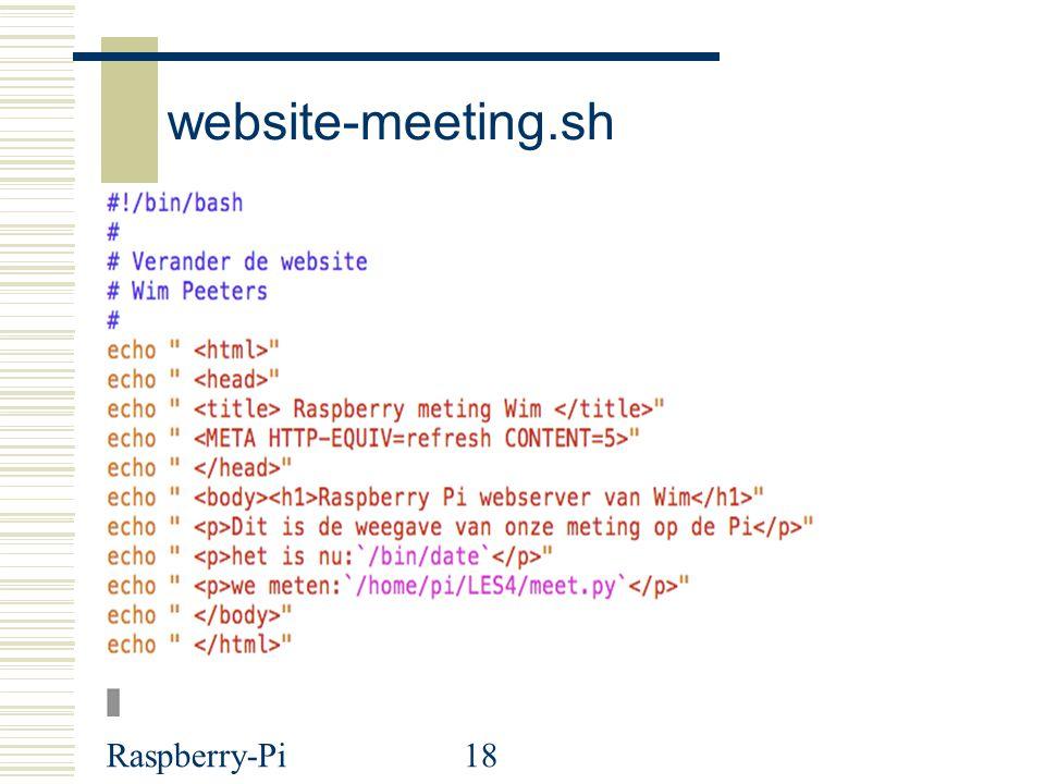 Raspberry-Pi18 website-meeting.sh