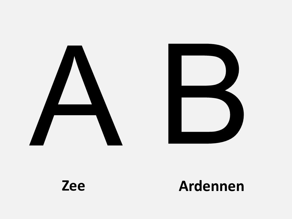 Zee Ardennen A B