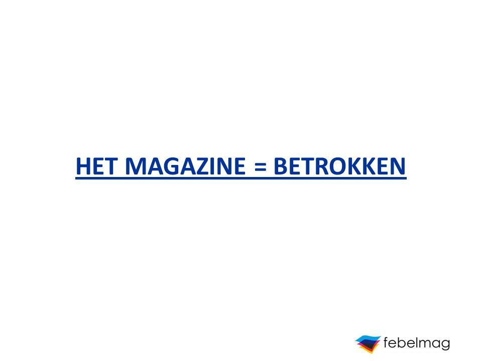 Magazines maken deel uit van het leven