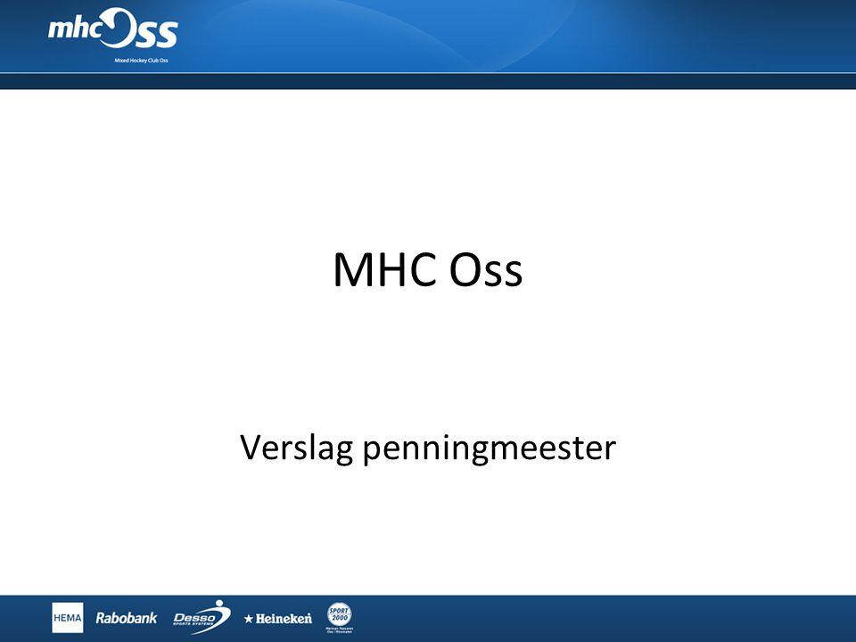 MHC Oss Verslag penningmeester