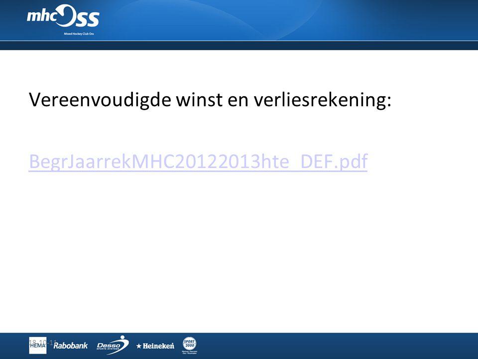 Vereenvoudigde winst en verliesrekening: BegrJaarrekMHC20122013hte_DEF.pdf 18-10-11