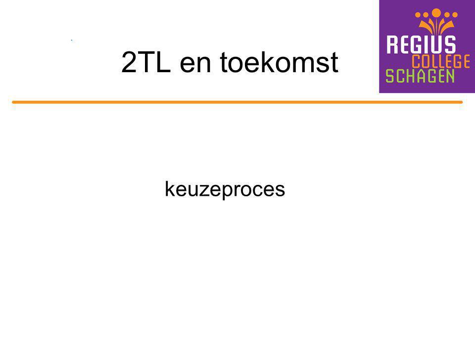 2TL en toekomst keuzeproces
